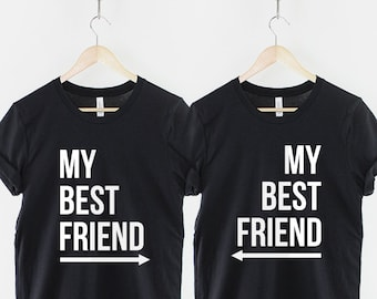 558558a1d54 Best Friend Shirt   Best Friend Shirts   Best Friend Gift   Best Friends  Shirts - 2 x My Best Friend T-Shirt - Twin Pack