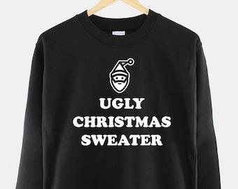 Womens Xmas Party Bad Taste Tacky Ugly Tecso Value Funny Christmas Jumper
