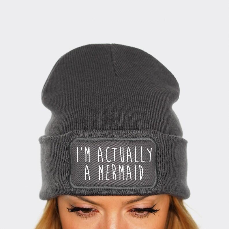9c162c37225 I m Actually A Mermaid Beanie