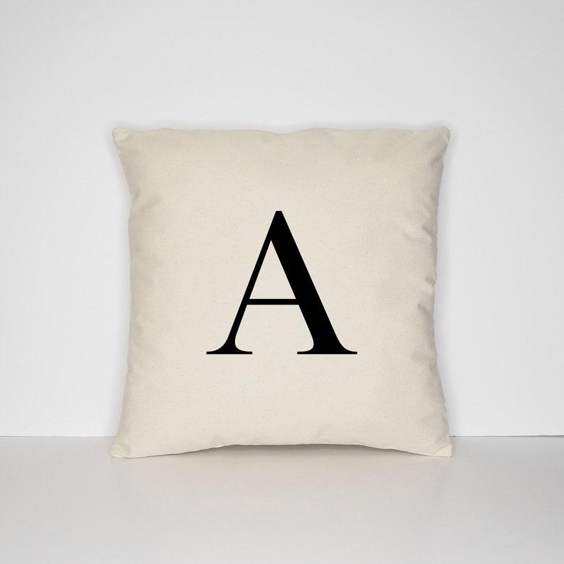 Personalized Monogram Pillow Case