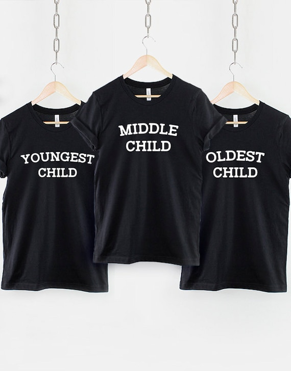 I/'m The Middle Child T-Shirt 100/% Premium Cotton Funny Gift Present Son Daughter