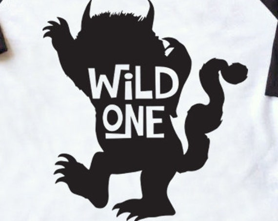 Wild One SVG - Where The Wild Things Are SVG - Wild Things SVG - Kids T-shirt Svg - Max Svg - Monster Svg Silhouette Cameo  Circuit Explore