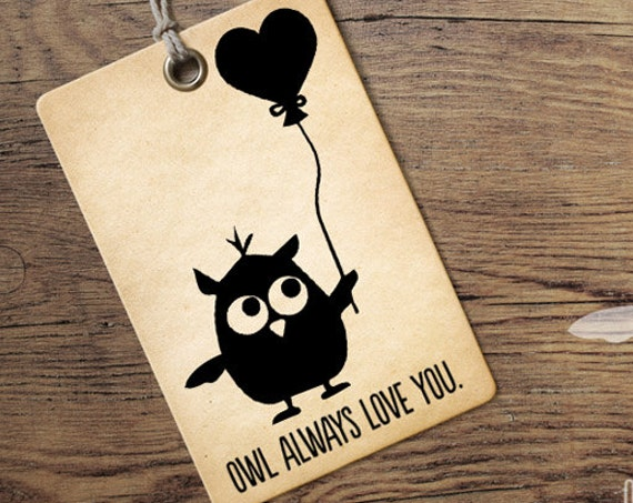 Valentines SVG - Owl Always Love You Svg - Cutting Files - Valentines Day SVG - Love Svg - DIY Valentines Day Card - Owl Svg - Heart Svg