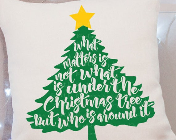 Christmas Tree SVG - Christmas Svg - Cutting File - SVG Files for Silhouette - Christmas Decor - Christmas Decorations Holiday Svg Tree Svg