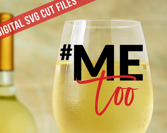 MeToo SVG #MeToo Svg Cutting File Vinyl Cutting Decal Women's Svg Silhouette Cameo Cut Files Svg Hashtag SVG Me Too Svg Sexual Assault