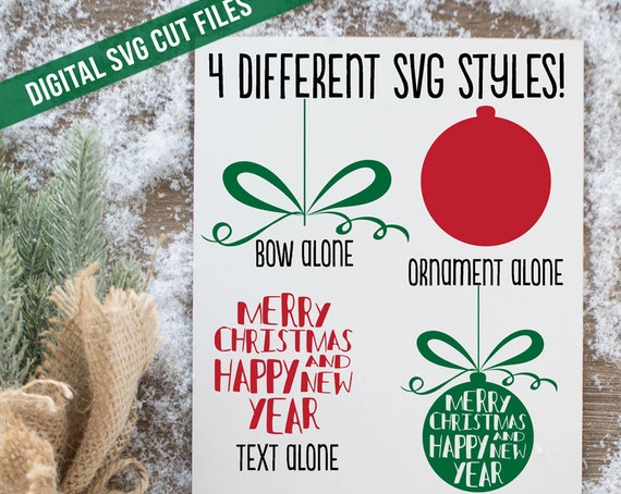 Create a Christmas Ornament SVG Cutting File SVG files for Silhouette Cameo Cut Files Svg Cutting Files SVG Decal Christmas Ornament svg