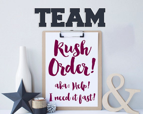 Shauna Smith Designs - TEAM Rush Order!  Help Shauna! I need last minute team gifts fast!!