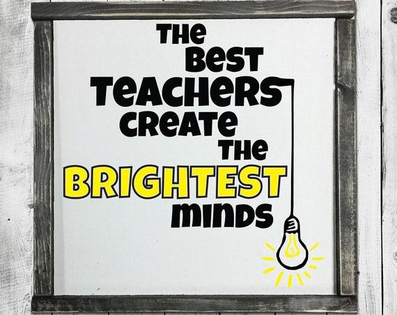 Bright Minds SVG - Teacher SVG - Back to School Svg - School SVG  - Teacher Appreciation Svg - Lightbulb Svg - Silhouette Svg - Circuit Svg