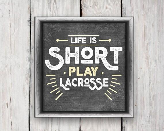 LACROSSE Artwork PRINTABLE Lacrosse Wall Art - Lacrosse Coach Gift Lacrosse Gifts Lacrosse Wall Art Lacrosse Printable Wall Decor