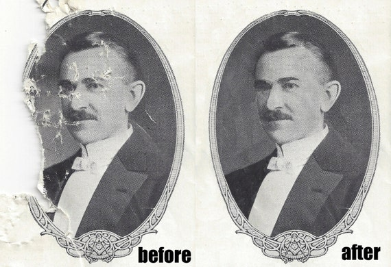Professional PHOTO RESTORATION & RE-Touching - Take your damaged photos and make them new again!