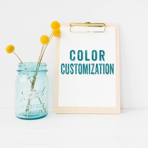 Color Customization for any Shauna Smith Designs Artwork!