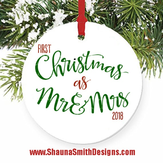 First Christmas as Mr and Mrs SVG - FIRST Christmas Married SVG - First Christmas Married  - First Christmas Together Svg - Christmas Svg