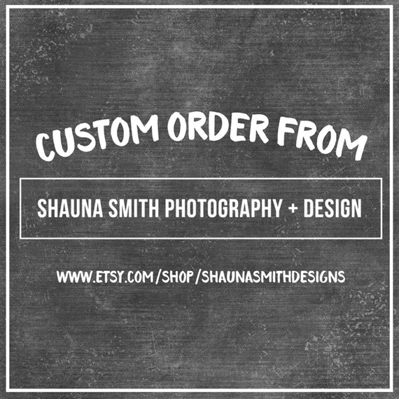 UPGRADED INTERNATIONAL SHIPPING for Shauna Smith Designs Artwork