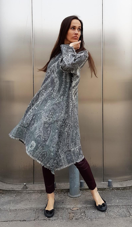 ea118c90c35f1 NEW 100% Wool Dress / Unique Dress / Reversible Dress / Women | Etsy