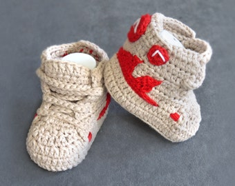 Baby sock shoes, crochet baby shoes, Soft sole baby shoes, baby boy shoes, baby boy crochet shoes, patent baby shoes