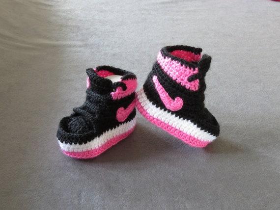crochet baby shoe baby boy