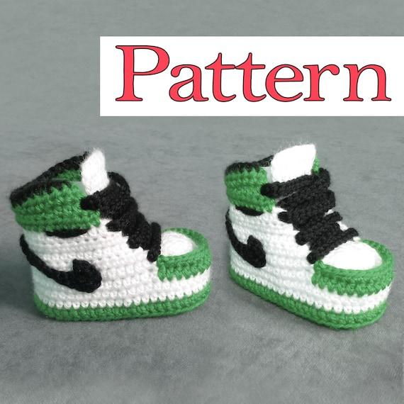 Jordan Crochet Baby Booties Pattern