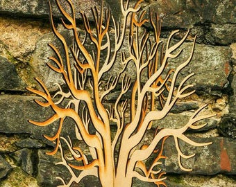 Beautiful Lasercut Wooden Freestanding 3D Large Tree ~ craft tree ~ wishing tree ~ wedding decor ~ guest book ~ laser cut