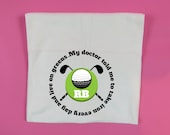 Personalised Golf towel take iron live on greens golfing gift 30 x 60 cm Golf Towel Club Ball Cleaner Towel Custom Gift Secret Santa Gift
