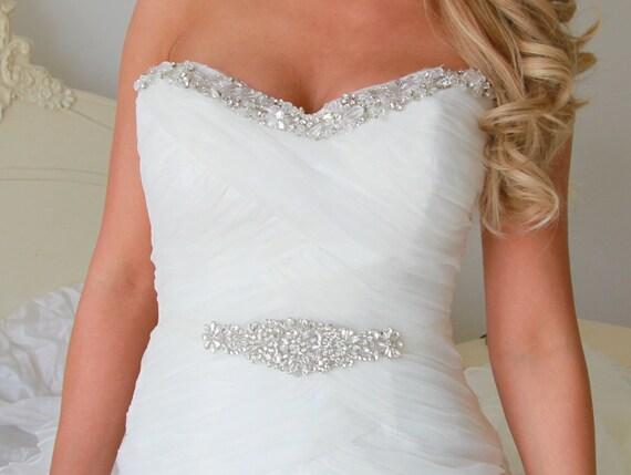 Freya Bridal Sash Bridal Belt Wedding Sash Wedding Dress Etsy