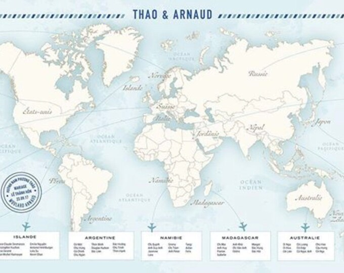 World Map Seating Chart Airline Ticket Silhouettes Traveling Travelers Hikers Travel Hiking, Printable