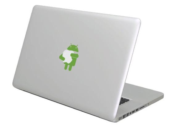 87fdf2774923 Android MacBook calcomanía etiqueta. Elige tu talla. Anuncio