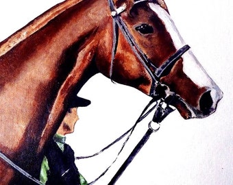Horse//Race Horses//Art Print//Poster//Churchill Downs//Pop Art//16x20 inch