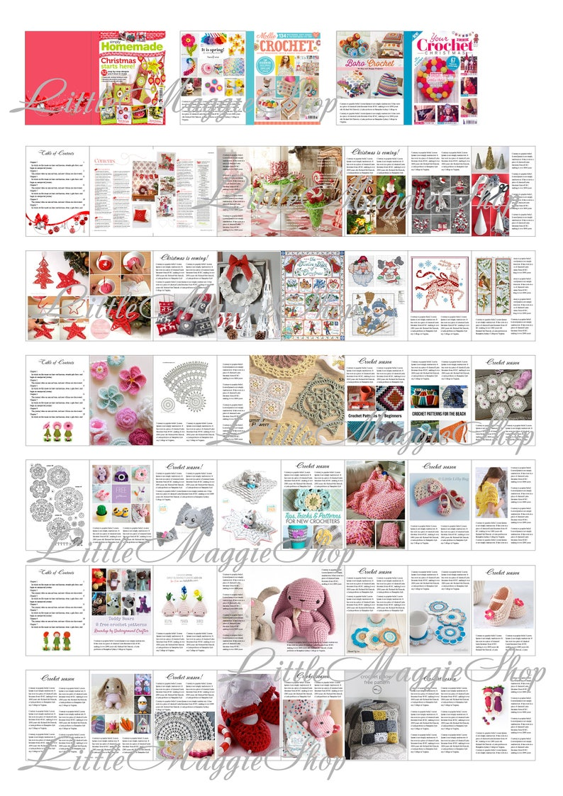 image about Printable Miniatures known as Crafts Publications with Internet pages, Dollhouse miniatures, Printable A4 Sheet, Obtain