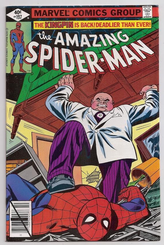 spiderman vs kingpin comics