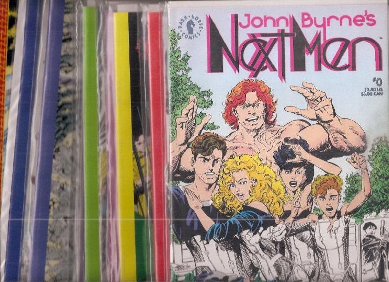 John Byrne's Next Men Comics Books Lot 0 1 2 3 4 5 6 7 8 9 image 0