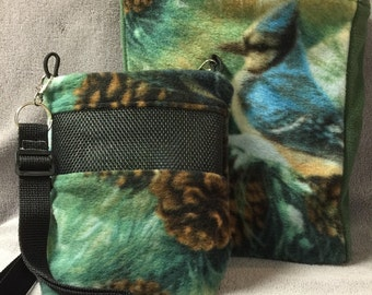 Tote with matching Sugar Glider Bonding Pouch