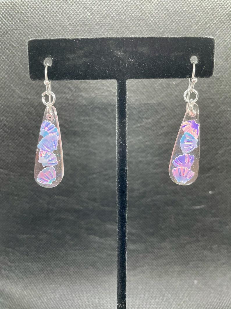 Stud Earrings for Women Dangle Earrings Silver Silver Stud Earrings Cute Dangle Earrings Mermaid Earrings Resin Earrings