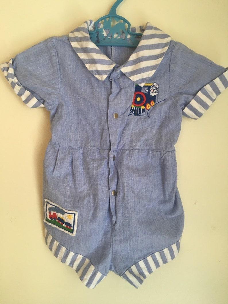 9fa600d6b544 0-3 month Vintage baby clothes vintage baby boy clothes