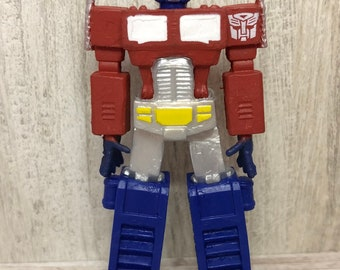 CUSTOM Christmas Ornament Made From Transformers Optimus Prime