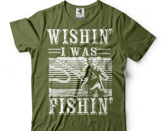 Fisherman T-Shirt Funny Fishing Tee Shirt