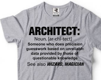d80921a4 Architect T-Shirt Funny Definition Noun Profession Tee Shirt