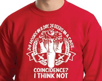 Beer Sweatshirt Funny Beer Sweater Gift For Beer Fan