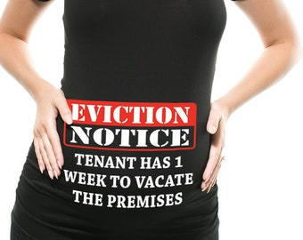 eviction notice etsy