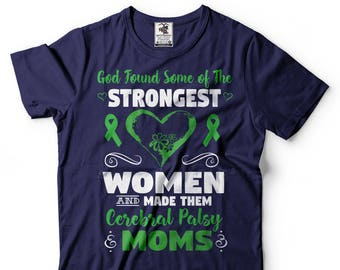 Cerebral Palsy Mom T-Shirt Cerebral Palsy Awareness Birthday Gift Tee Shirt