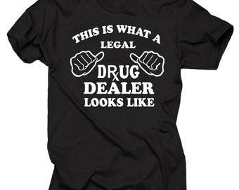 0782704b Gift For Pharmacist T-Shirt Legal Drug Dealer Tee Shirt Rx Pharmacy Shirt