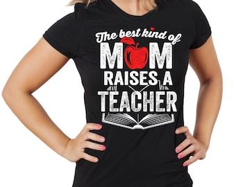 Mom T-Shirt Gift For Mother Tee Shirt Graduation Gift Woman Top Tee Shirt