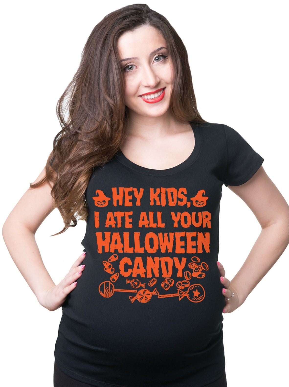 halloween funny pregnancy t-shirt maternity halloween costume | etsy