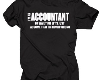 Accountant T-shirt Accounting Shirt CPA t-shirt accounting Major Shirt