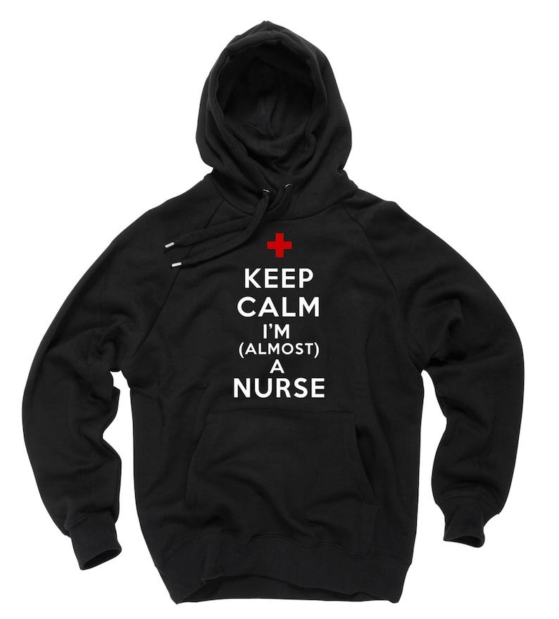 official photos 1bb35 e8f88 Scuola per infermiere infermiere felpa con cappuccio Felpa con cappuccio