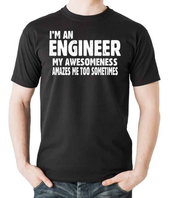 I Am A Mechanic T-Shirt Trust Me Gift Funny Engineer Adult /& Kids Tee Top