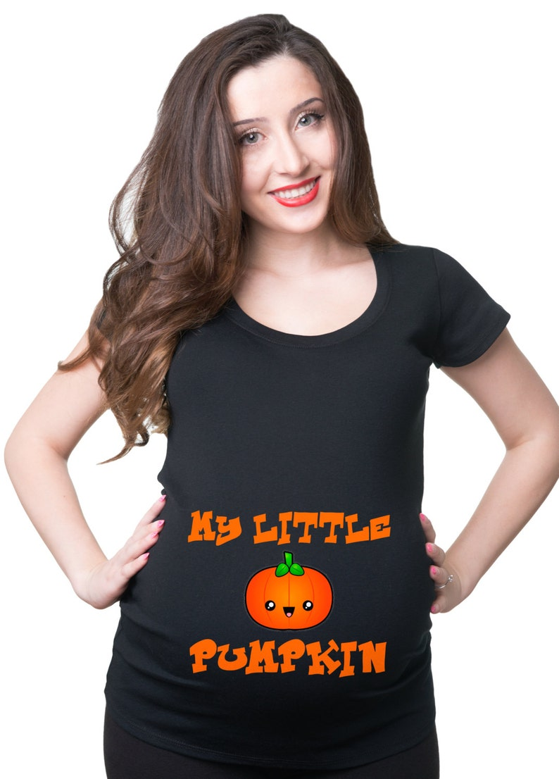 Halloween Pregnancy T Shirt.My Little Pumpkin Halloween Pregnancy T Shirt Halloween Maternity Top Costume T Shirt Halloween Pregnancy Costume Tee