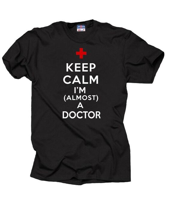 Keep CALM I/'M A Pompier Pompier adultes t-shirt homme femme CADEAU