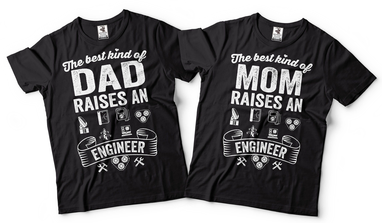 Ingenieur T-shirt Ingenieur Eltern T-shirts Geschenk für   Etsy