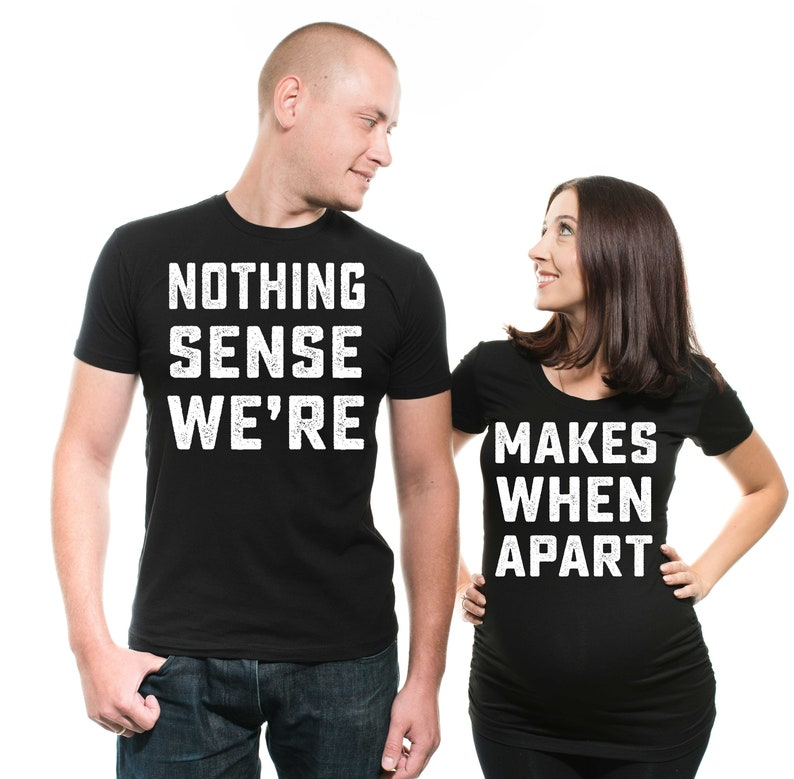 39d81c87 Maternity Couple shirts Pregnancy Tee shirt matching idea | Etsy