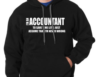 Accountant Hoodie Sweater Accounting Major Sweatshirt Sweater